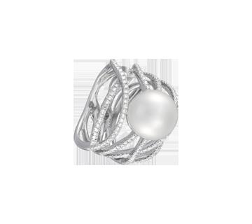 Bague Diamant Calligraphe P27006